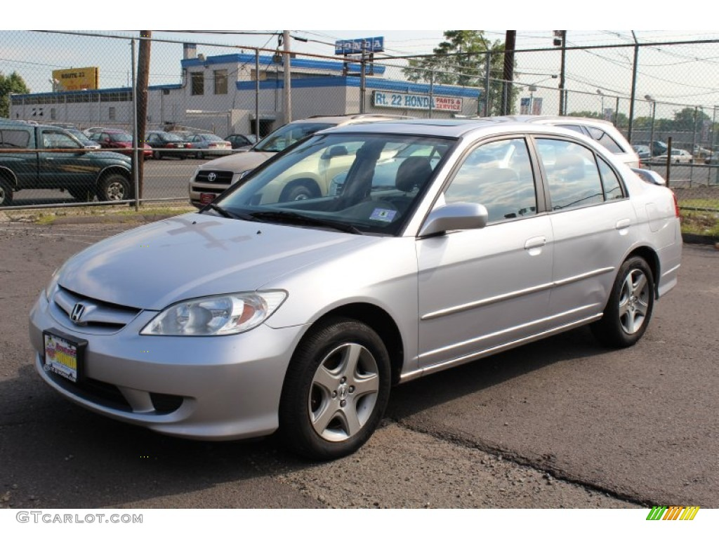 2004 Honda Civic Coupe Ex 2005 Satin Silver Metallic Honda Civic EX Sedan #53673286 ...