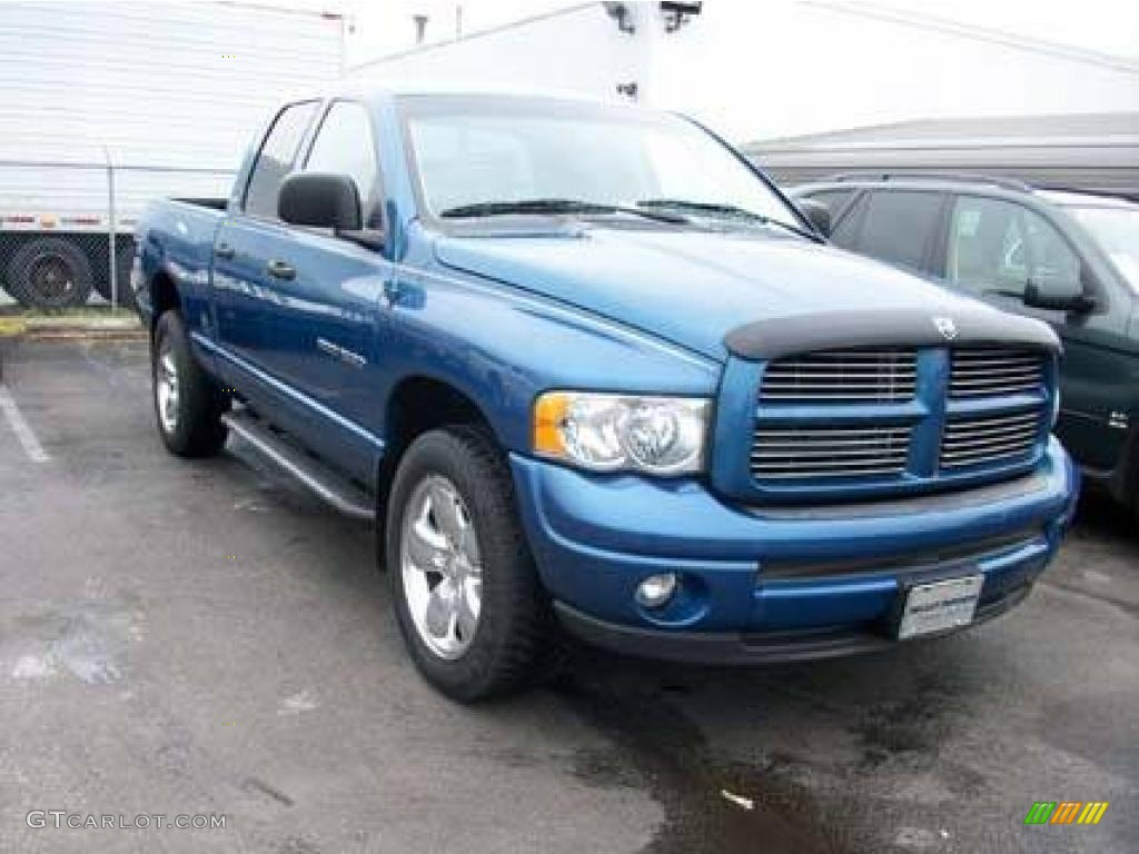2002 atlantic blue pearl dodge ram 1500 sport quad cab 4x4 5345207 photo 4. Black Bedroom Furniture Sets. Home Design Ideas