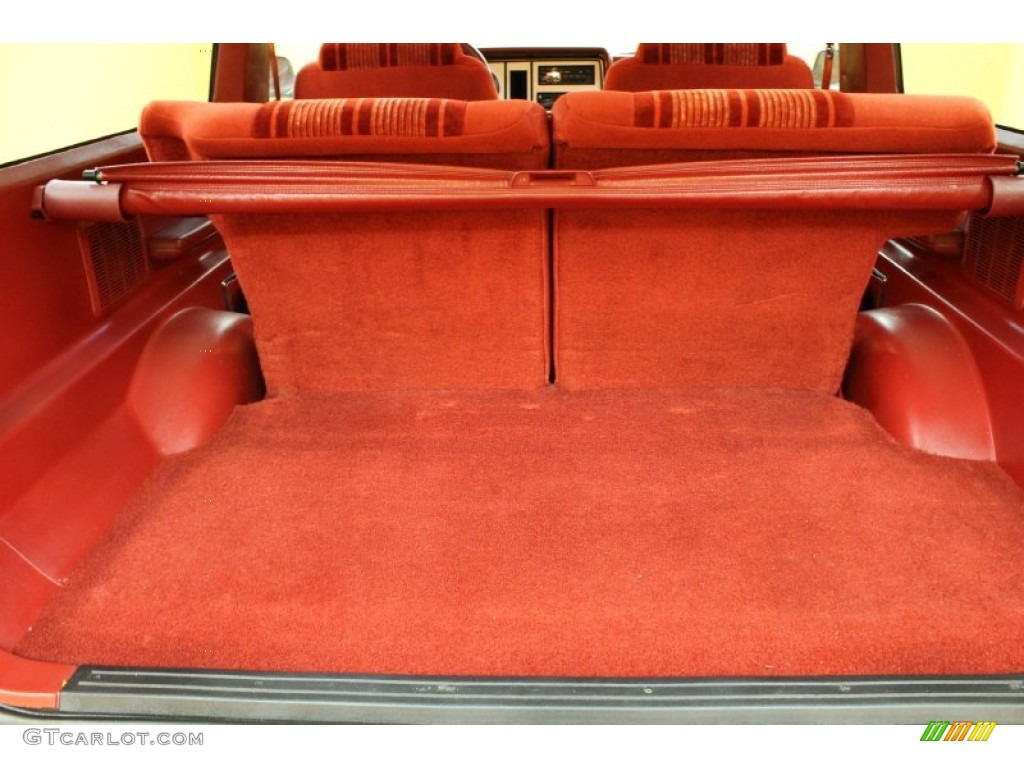 Red Interior 1988 Ford Bronco Ii Xl Photo 53710500