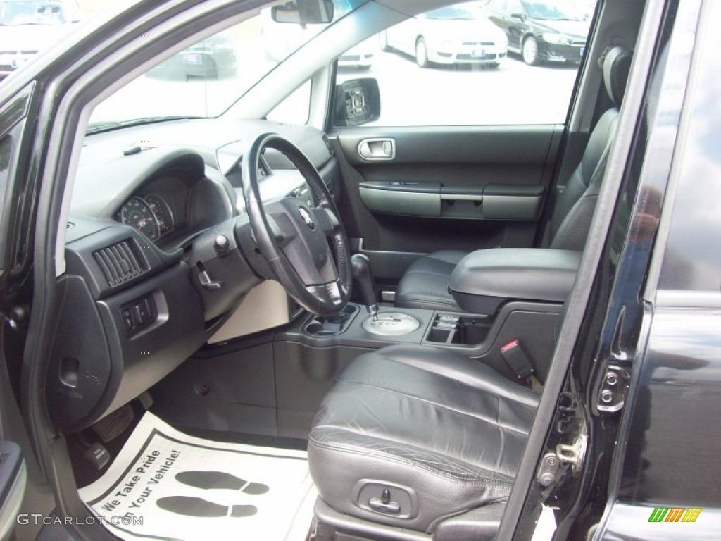 Charcoal Gray Interior 2004 Mitsubishi Endeavor Limited Awd Photo 53715201