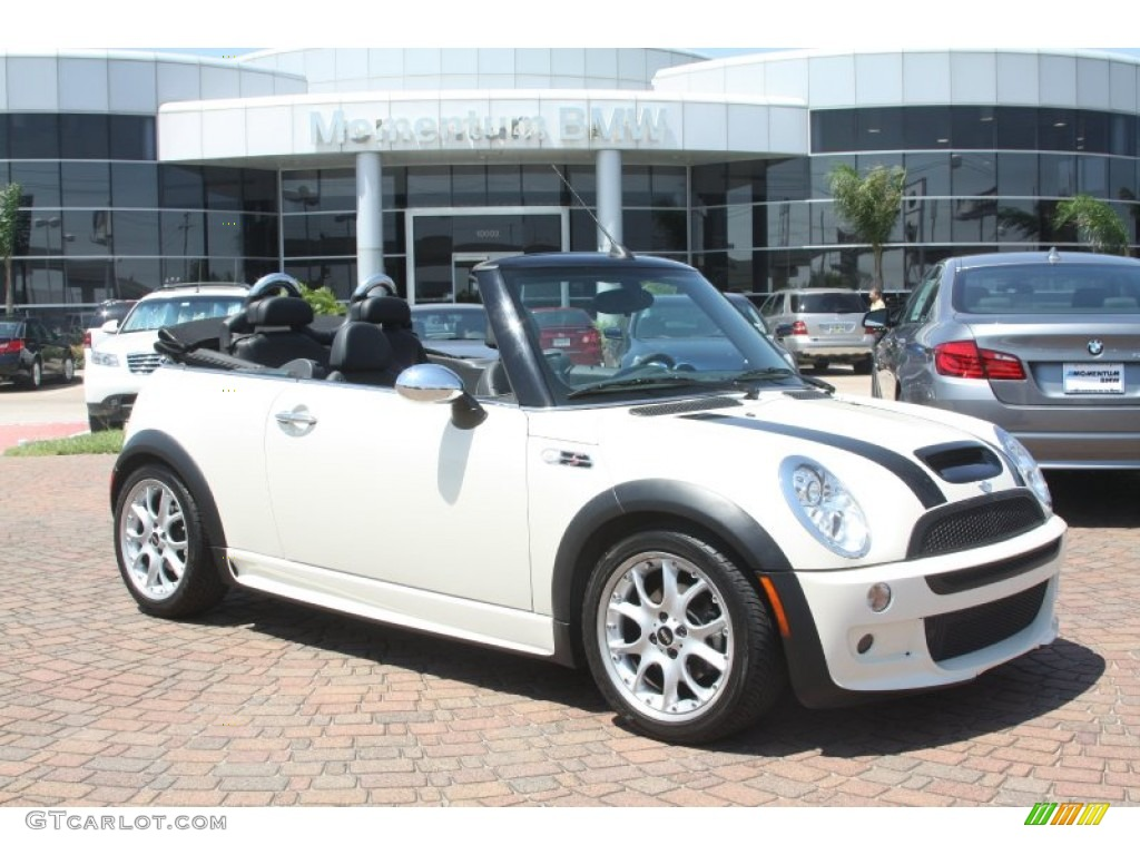 Pepper White Mini Cooper S Convertible