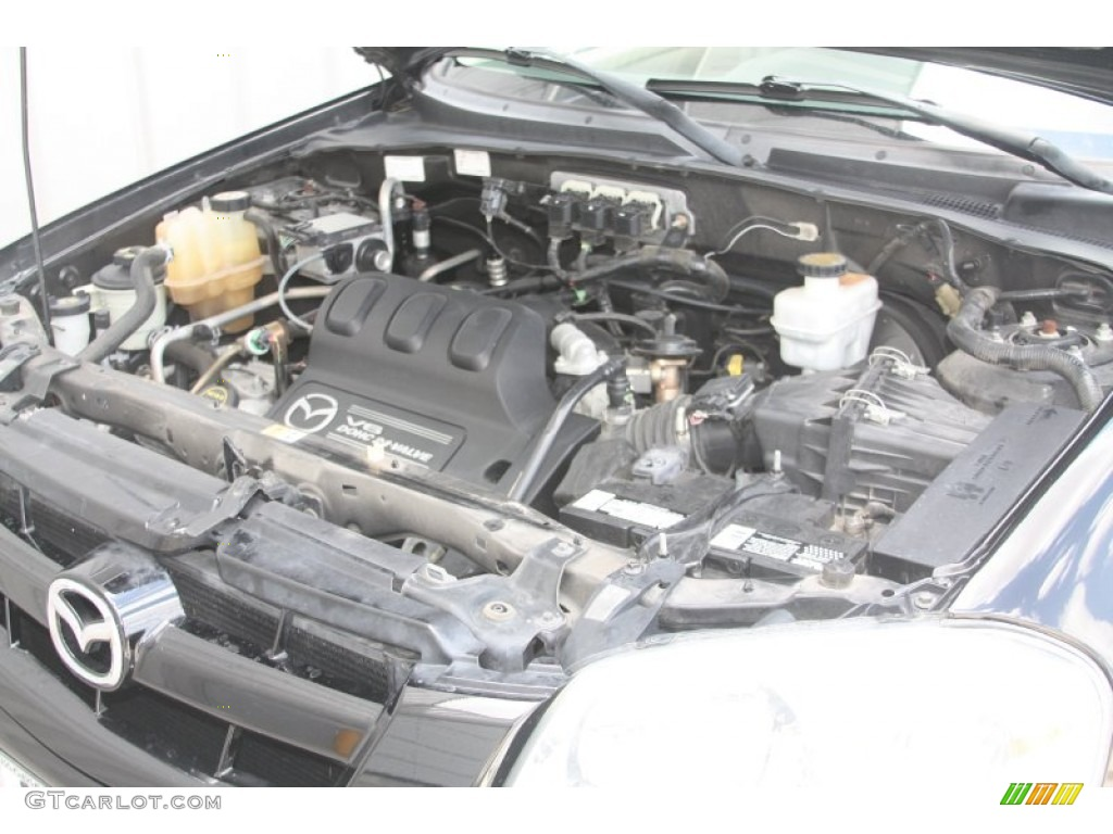2005 Mazda Tribute s 3.0 Liter DOHC 24-Valve V6 Engine Photo #53719509