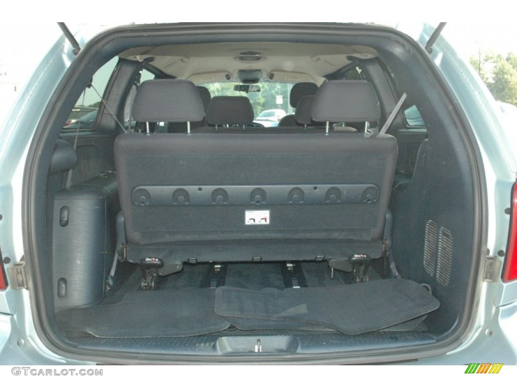 2001 Chrysler Town & Country LX Trunk Photos