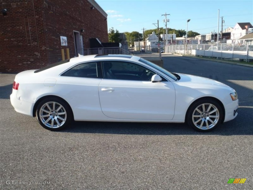 Ibis White 2011 Audi A5 2.0T quattro Coupe Exterior Photo ...