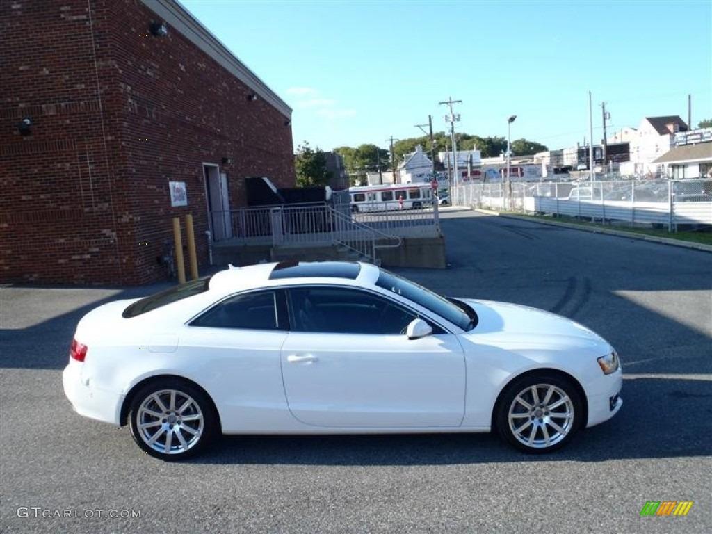 Ibis White 2011 Audi A5 2.0T quattro Coupe Exterior Photo #53734179 | GTCarLot.com