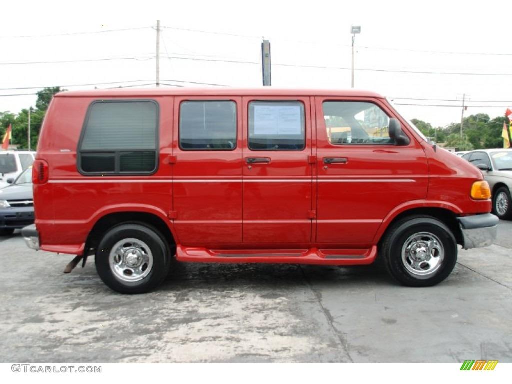 colorado red 2000 dodge ram van 1500 passenger conversion exterior photo 53738910. Black Bedroom Furniture Sets. Home Design Ideas