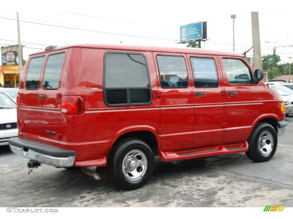colorado red 2000 dodge ram van 1500 passenger conversion exterior photo 53738958. Black Bedroom Furniture Sets. Home Design Ideas