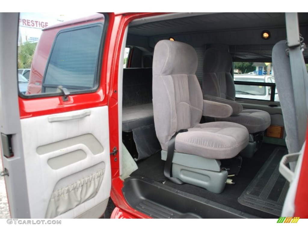 Camel Tan Interior 2000 Dodge Ram Van 1500 Passenger Conversion Photo 53739027