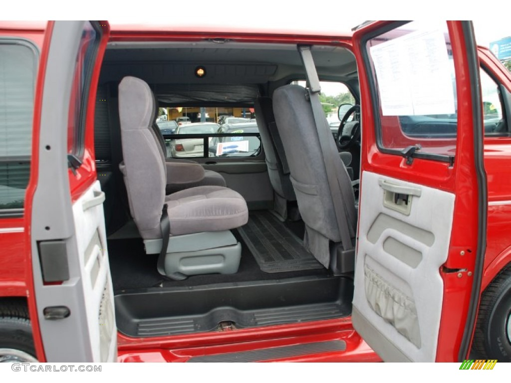 Camel/Tan Interior 2000 Dodge Ram Van 1500 Passenger Conversion