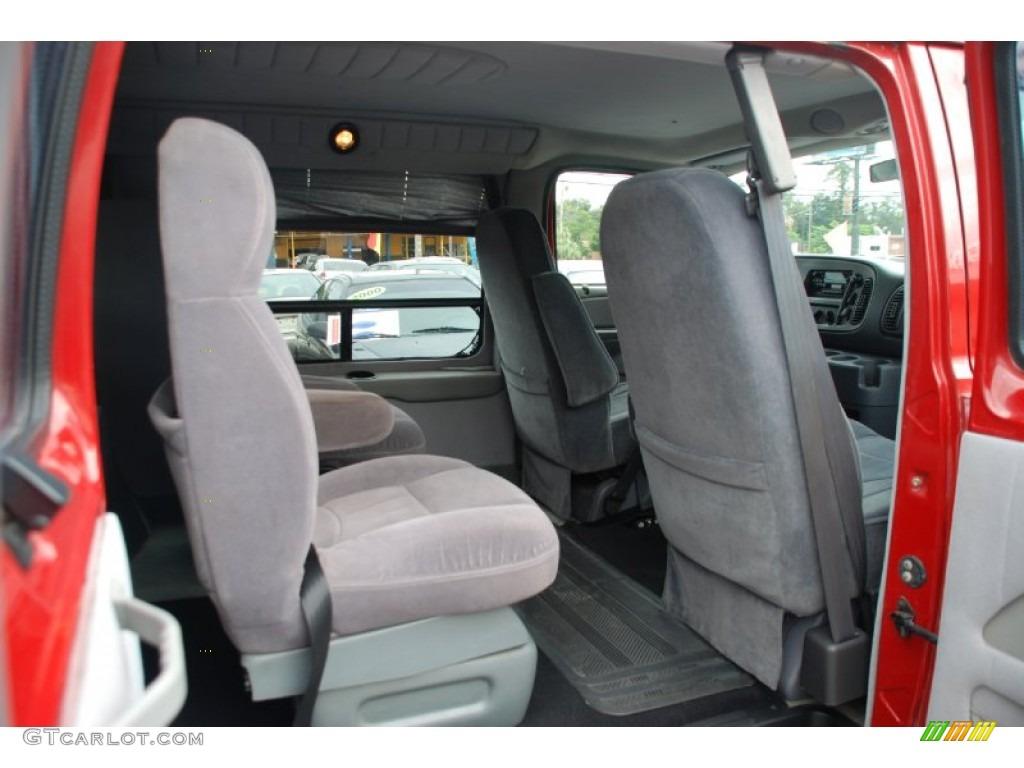 Camel Tan Interior 2000 Dodge Ram Van 1500 Passenger Conversion Photo 53739039