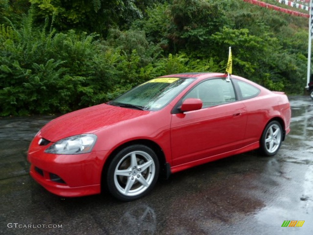 2006 Milano Red Acura RSX Type S Sports Coupe #53672042 | GTCarLot.com - Car Color Galleries