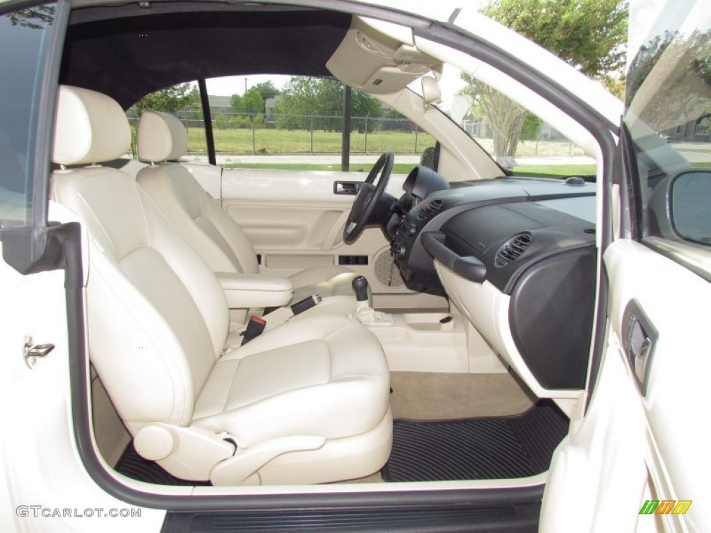 Cream Beige Interior 2008 Volkswagen New Beetle S Convertible Photo 53742945