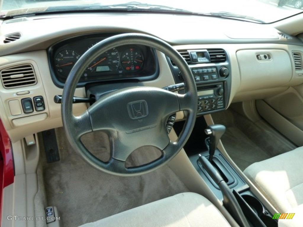 2000 San Marino Red Honda Accord Ex Coupe 53672926 Photo
