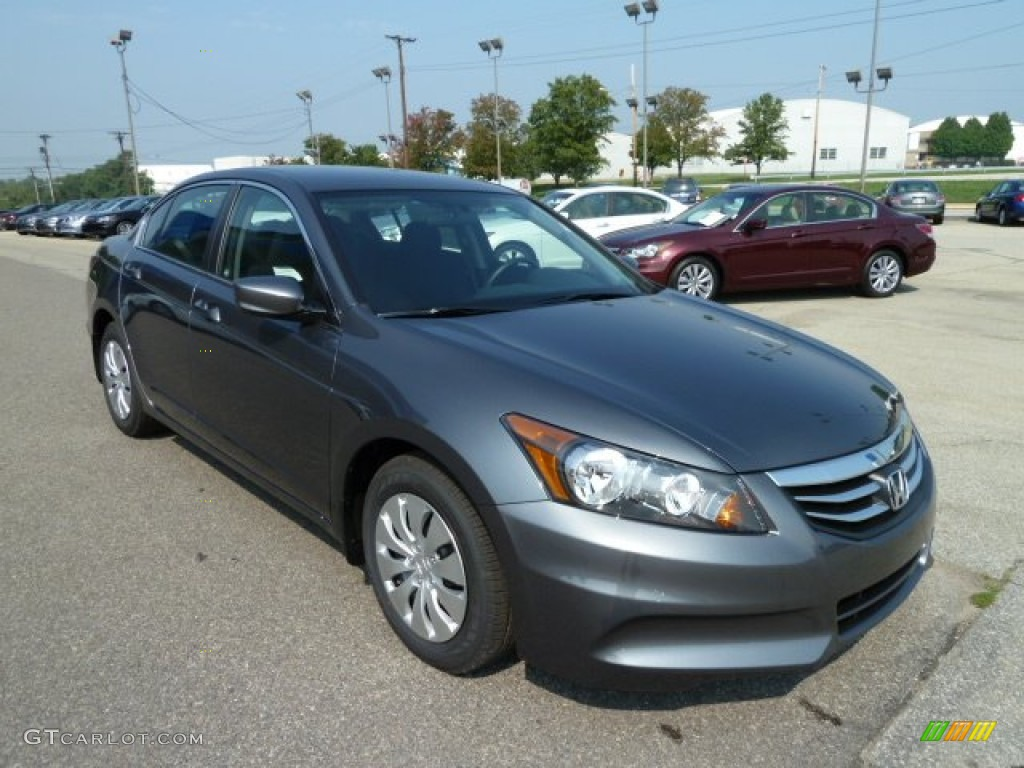Polished Metal Metallic 2012 Honda Accord Lx Sedan