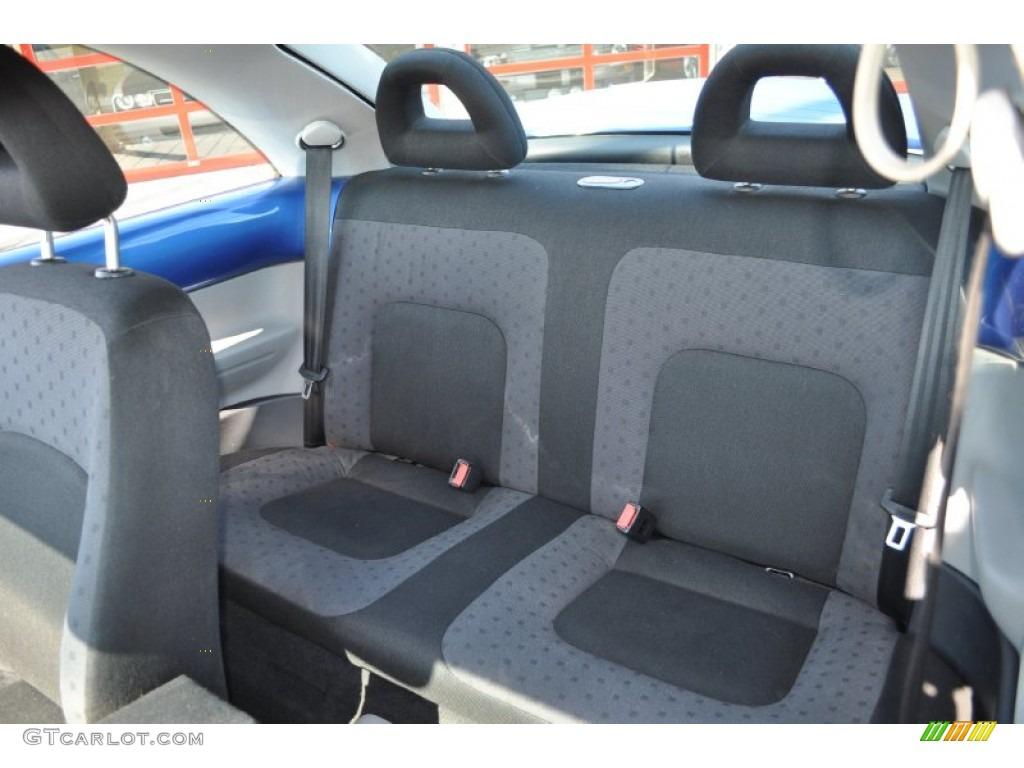 Light Grey Interior 2001 Volkswagen New Beetle Gls Coupe Photo 53748648
