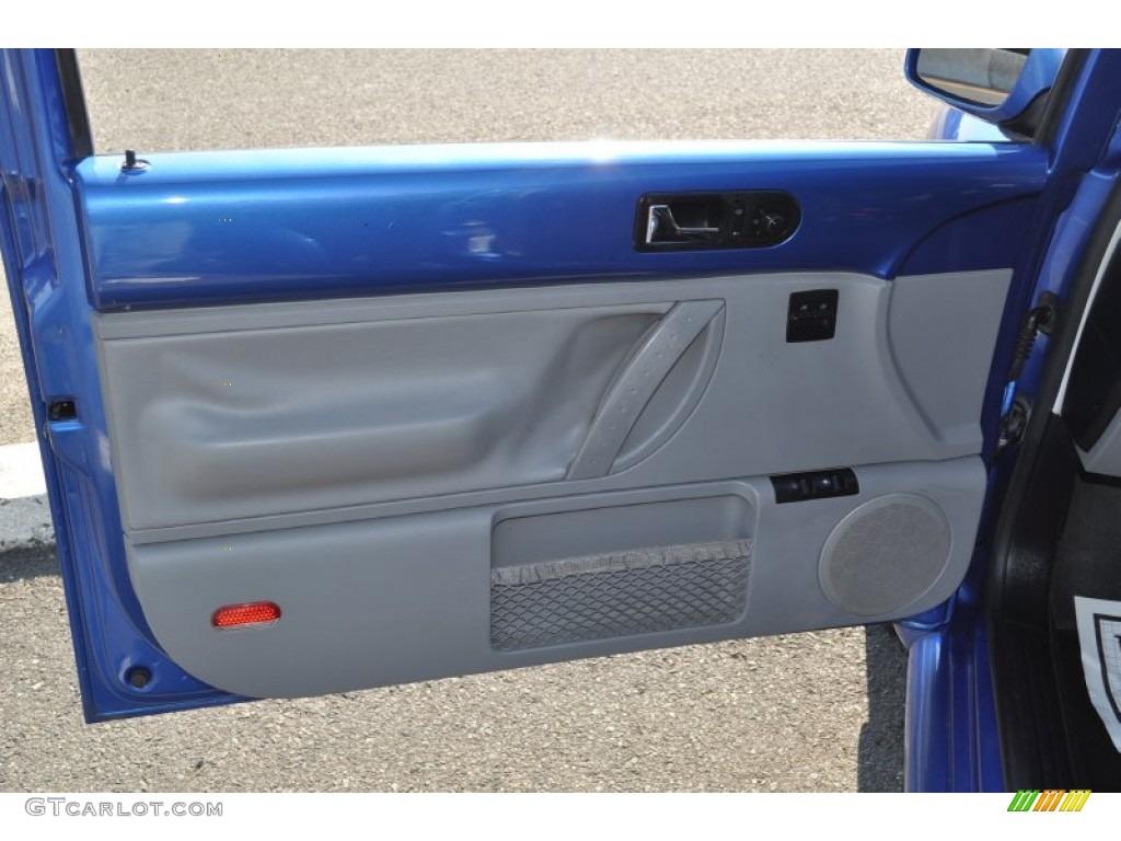 2001 Volkswagen New Beetle Gls Coupe Light Grey Door Panel Photo 53748712