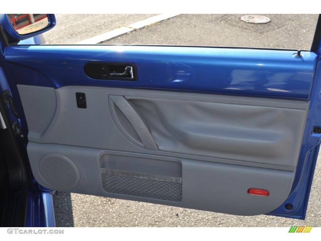 2001 Volkswagen New Beetle Gls Coupe Light Grey Door Panel Photo 53748718