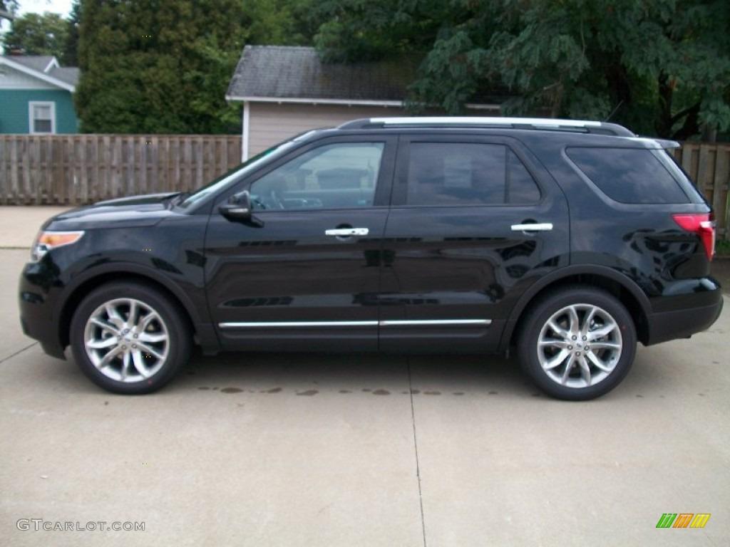 black 2012 ford explorer limited ecoboost exterior photo 53764670