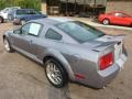 2007 Tungsten Grey Metallic Ford Mustang Shelby GT500 Coupe  photo #2