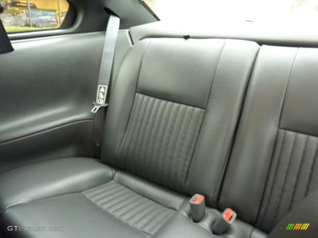 2001 Mustang Bullitt Coupe - Black / Dark Charcoal photo #14