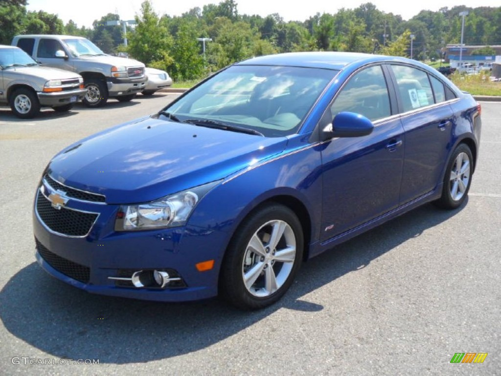 blue topaz metallic 2012 chevrolet cruze lt rs exterior. Black Bedroom Furniture Sets. Home Design Ideas