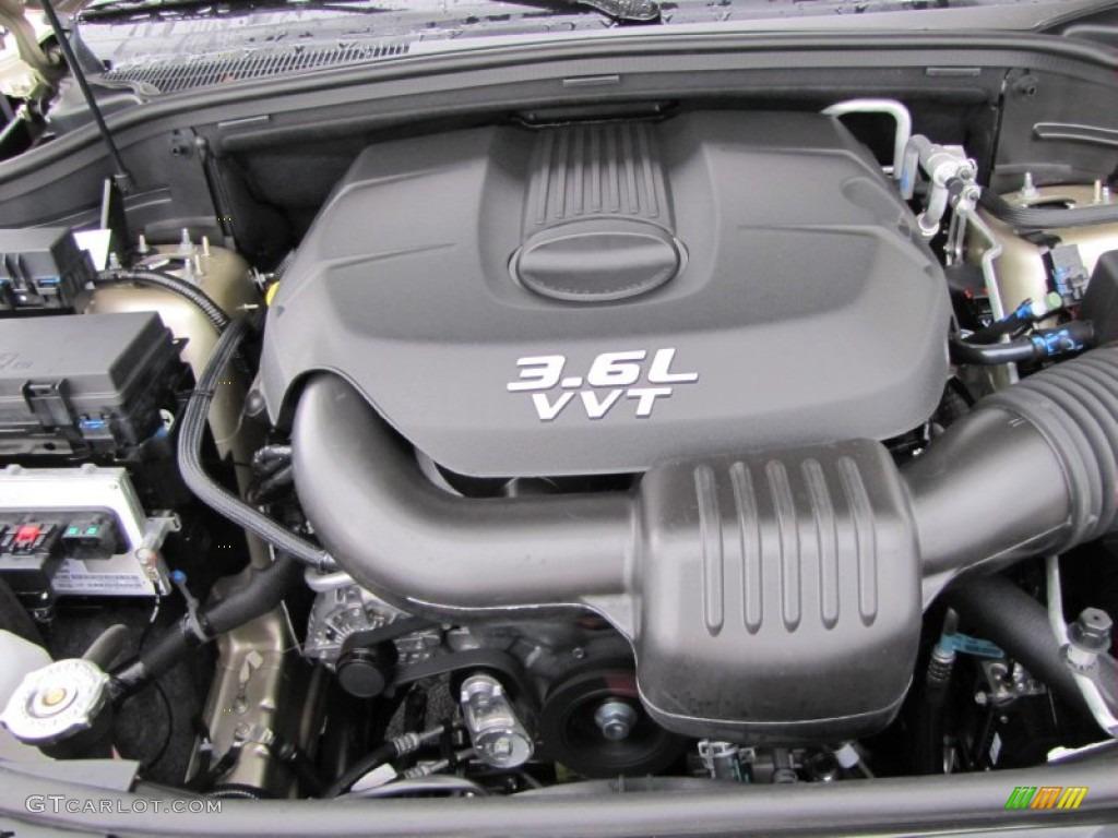 2012 Dodge Durango Crew 3 6 Liter Dohc 24