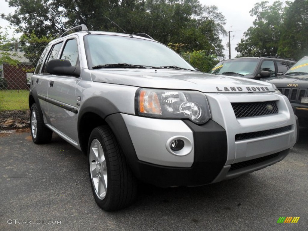zambezi silver metallic 2004 land rover freelander hse. Black Bedroom Furniture Sets. Home Design Ideas
