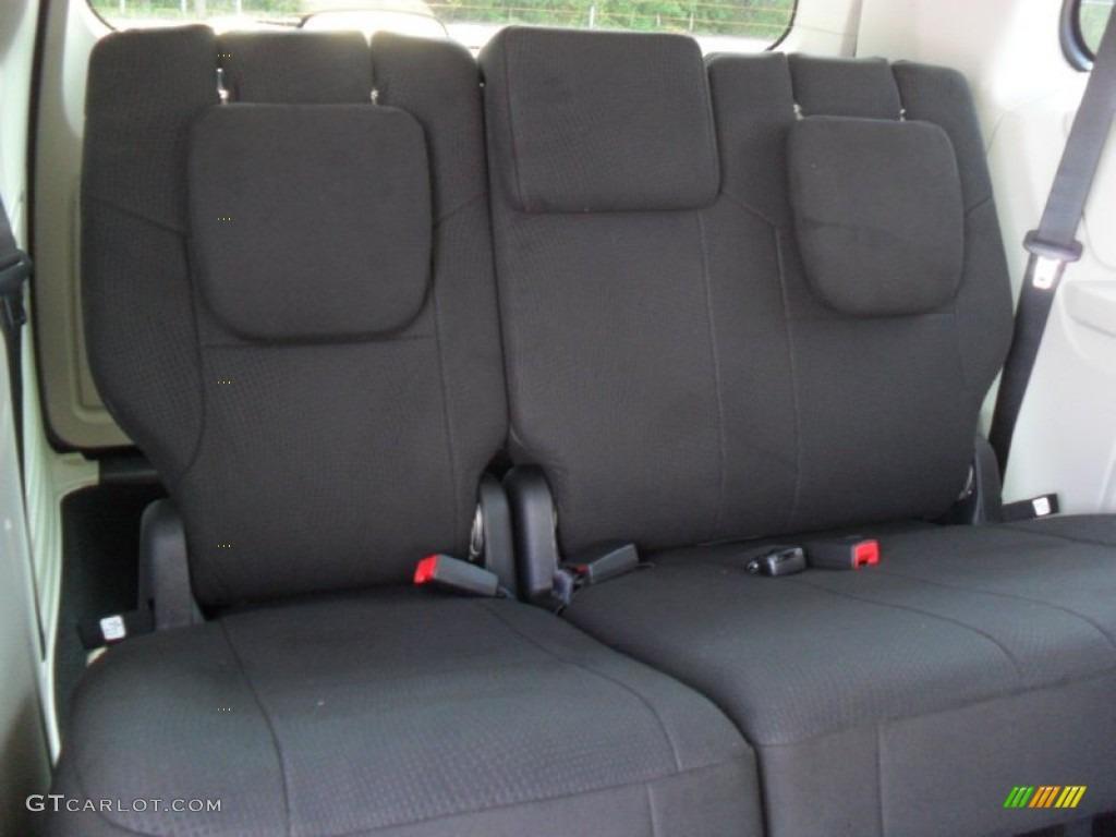 Black Light Graystone Interior 2012 Dodge Grand Caravan Sxt Photo 53781823