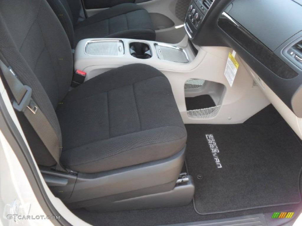 Black Light Graystone Interior 2012 Dodge Grand Caravan Sxt Photo 53781841