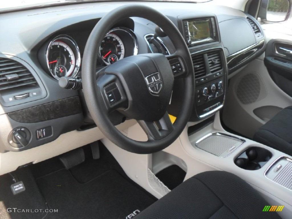 Black Light Graystone Interior 2012 Dodge Grand Caravan Sxt Photo 53781910