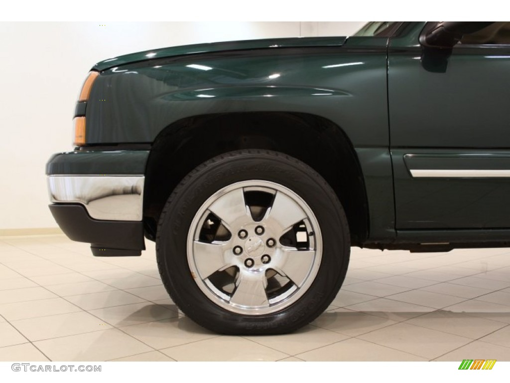 2006 Chevrolet Silverado 1500 LS Crew Cab Custom Wheels Photos