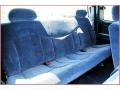 1999 Chevrolet Silverado 1500 Blue Interior Interior Photo