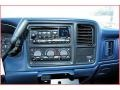 1999 Chevrolet Silverado 1500 Blue Interior Audio System Photo