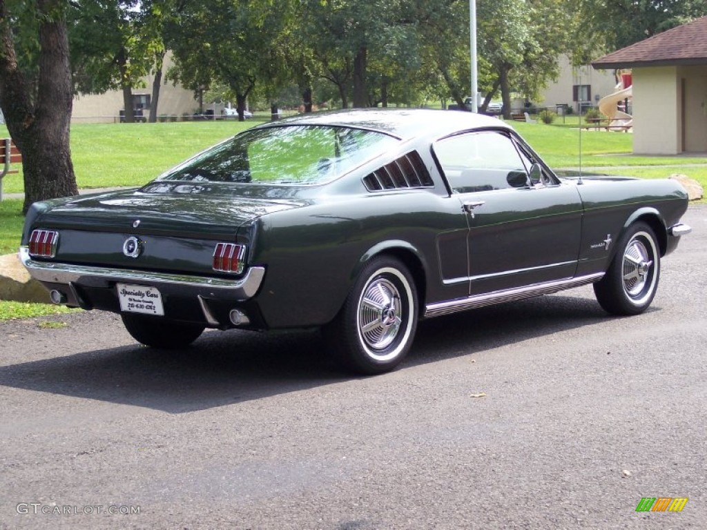 Ivy green 1965 ford mustang coupe exterior photo 53799736 gtcarlot com