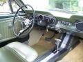 1965 Ford Mustang Ivy Gold Interior Dashboard Photo