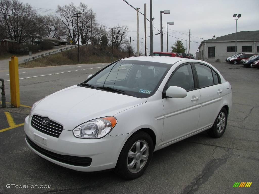 2006 Nordic White Hyundai Accent GLS Sedan #5360857 Photo ...