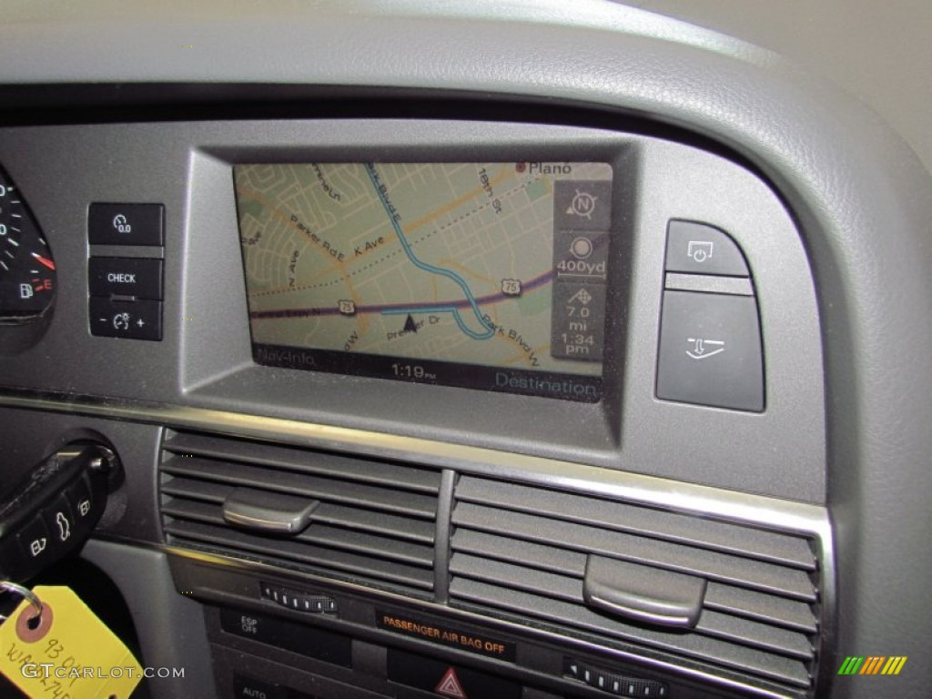 2006 audi a6 4 2 quattro sedan navigation photos. Black Bedroom Furniture Sets. Home Design Ideas