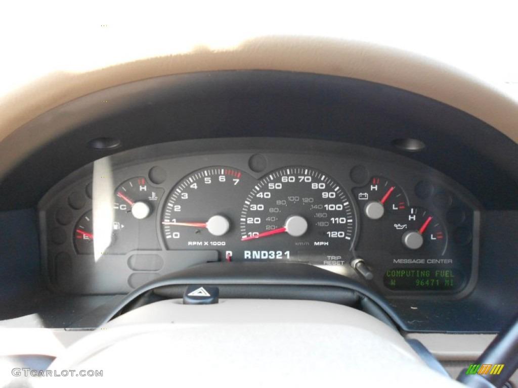 2003 Ford Explorer Eddie Bauer Gauges Photo #53817809