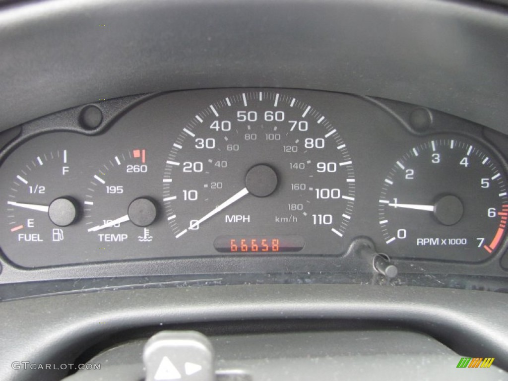 2003 Chevrolet Cavalier LS Sport Coupe Gauges Photo #53821868