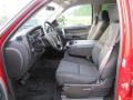 Ebony Interior Photo for 2011 Chevrolet Silverado 1500 #53831163