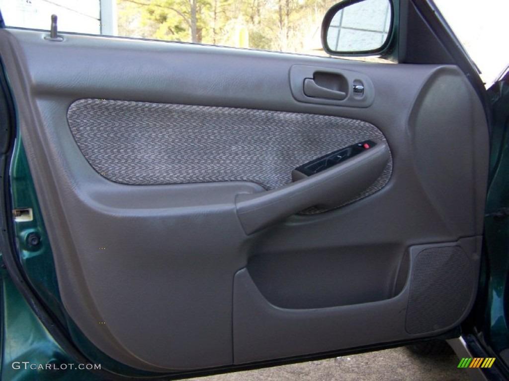 2000 Honda Civic Ex Sedan Beige Door Panel Photo 53832639