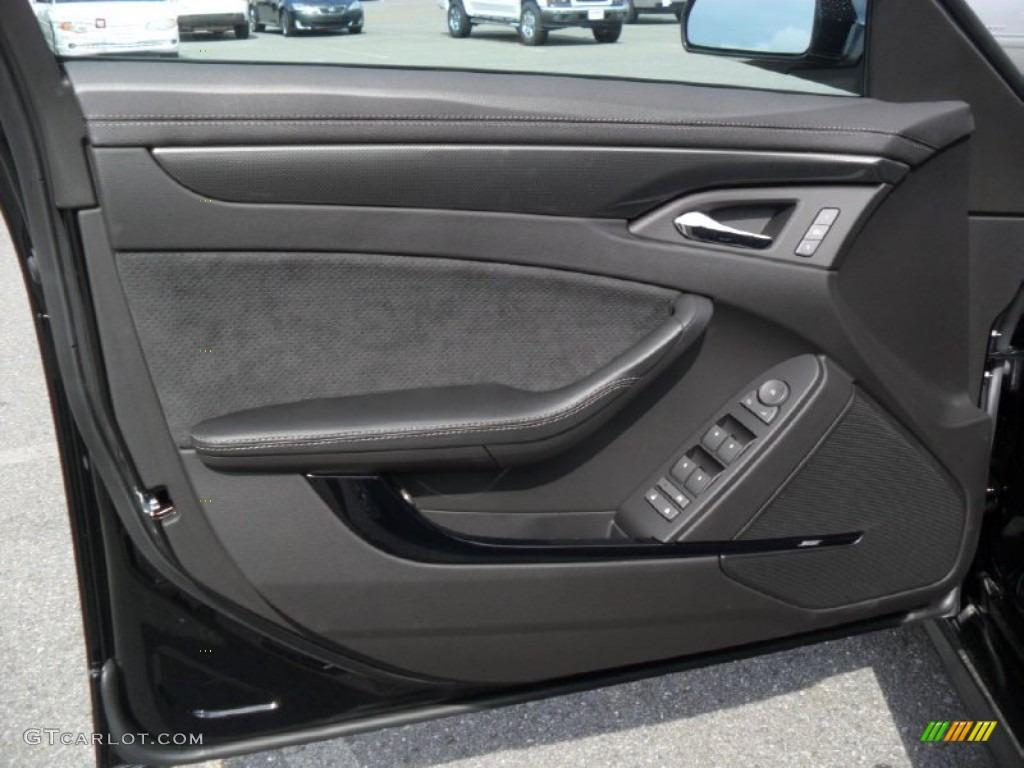 2012 Cadillac Cts V Sedan Ebony Ebony Door Panel Photo 53834287