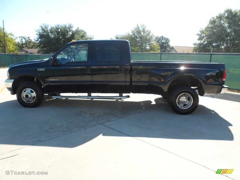 2003 black ford f350 super duty lariat crew cab 4x4 dually 53811210 photo 6. Black Bedroom Furniture Sets. Home Design Ideas