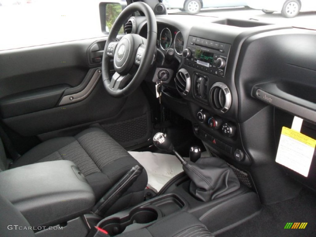 black interior 2012 jeep wrangler unlimited sport s 4x4