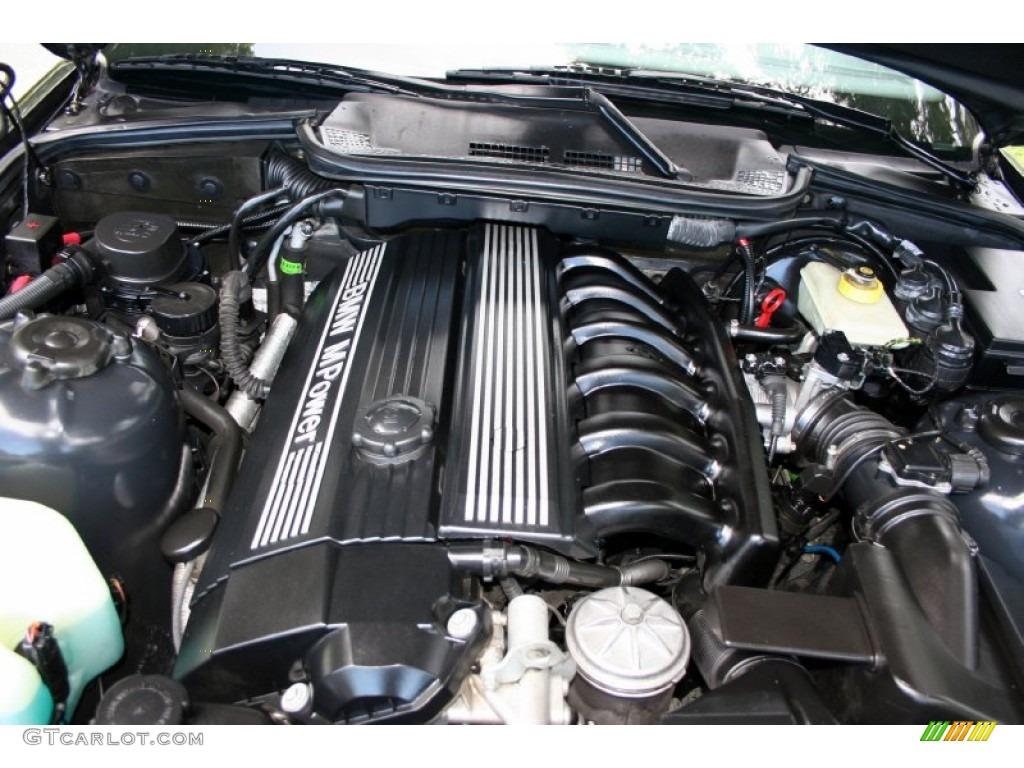 1999 Bmw M3 Convertible 3 2 Liter Dohc 24 Valve Inline 6 Cylinder Engine Photo 53840451