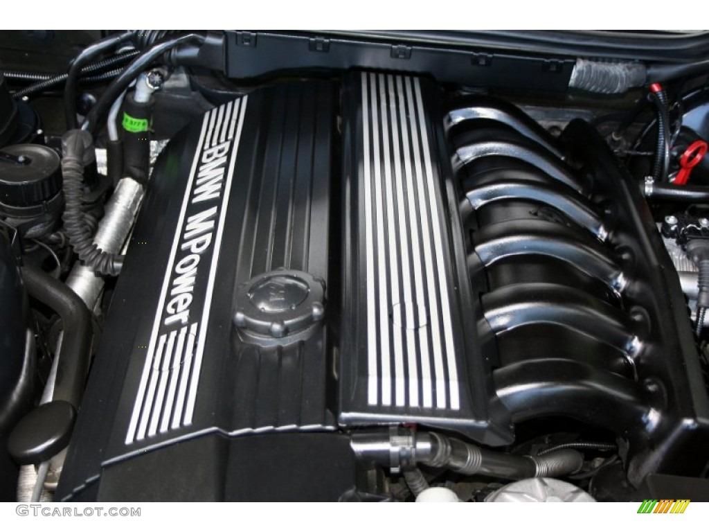 1999 Bmw M3 Convertible 3 2 Liter Dohc 24 Valve Inline 6 Cylinder Engine Photo 53840460