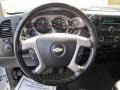 Ebony Steering Wheel Photo for 2008 Chevrolet Silverado 1500 #53841930