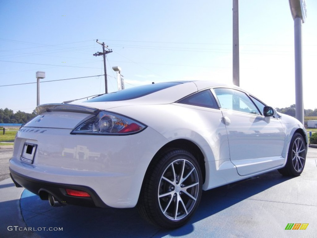 Northstar White 2011 Mitsubishi Eclipse Gs Coupe Exterior Photo 53859326 Gtcarlot Com