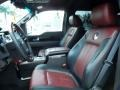 2010 F150 Harley-Davidson SuperCrew Harley Davidson Lava Red/Black Interior