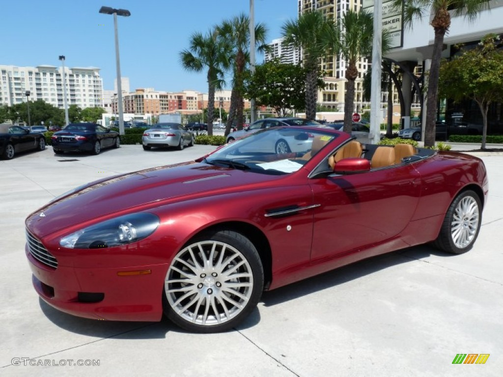 2009 Toro Red Aston Martin Db9 Volante 53857332 Gtcarlot Com Car Color Galleries